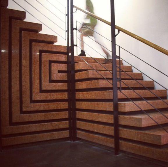 40 Amazing Staircases Details That Will Inspire You: Banca Popolare Di Verona. The Banca Popolare Di Verona Was