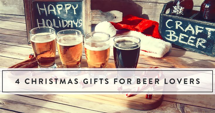 4 perfectly hoppy Christmas gifts for beer lovers from GiftTree. Make Christmas beer-y and bright!
