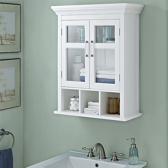 Deal of the Day: Two-Door Wall Cabinet with Cubbies