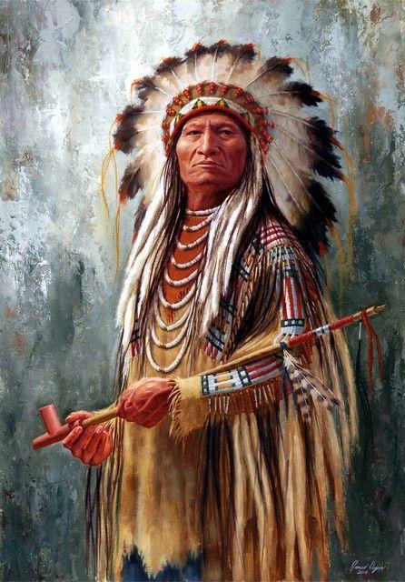 *Sitting Bull, Hunkpapa-Lakota by James Ayers