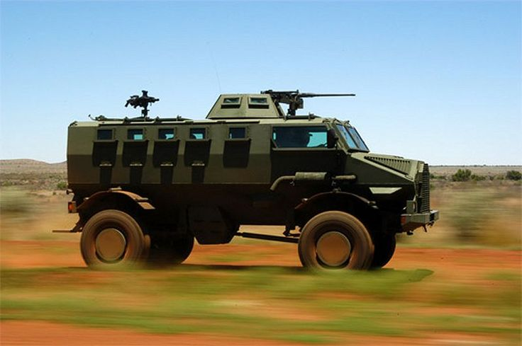 IVEMA GILA Armored Vehicle (South Africa)