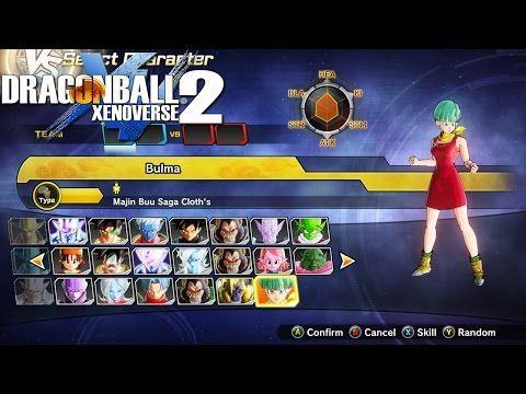 Dragon Ball Xenoverse 2: Jugando con Npc's V.2 |Gameplay en español - YouTube