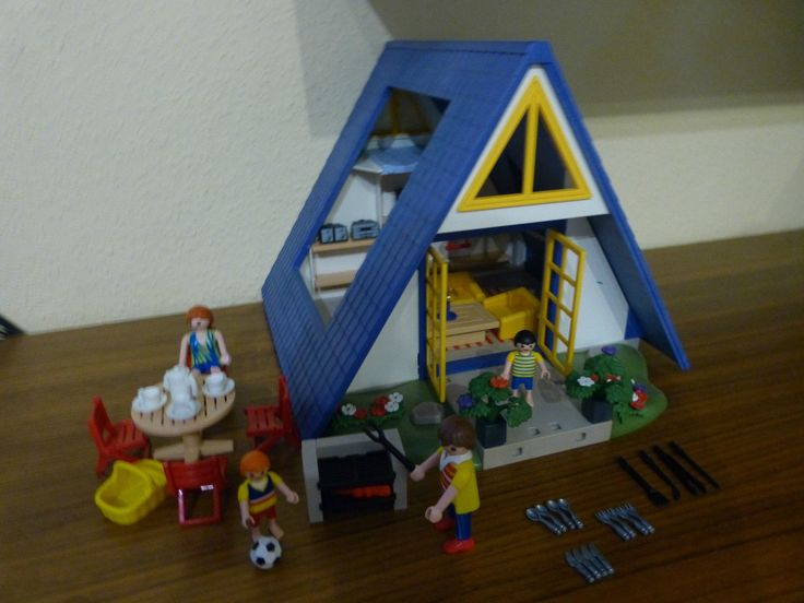Die besten 25 playmobil 3230 ideen auf pinterest playmobil playmobil bergrettung und lieder - Playmobil 3230 casa de vacaciones ...