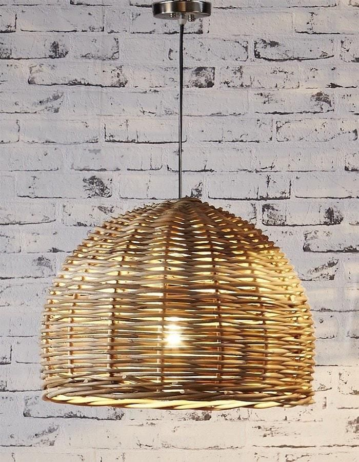 Get the holiday house vibe happening with the relaxed and natural Rattan Pendant Light. Buy a beautiful natural pendant light online today.