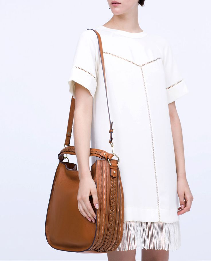 BRAIDED LEATHER BAG-View all-Handbags-WOMAN | ZARA United States
