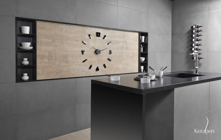 #Cocina #gris #black&white #kitchen #cuisine #islaencocina #diseñococina #cocinaperfecta #Keraben #interiorismo #diseño #cocinamoderna #cocinaoriginal #cocinas