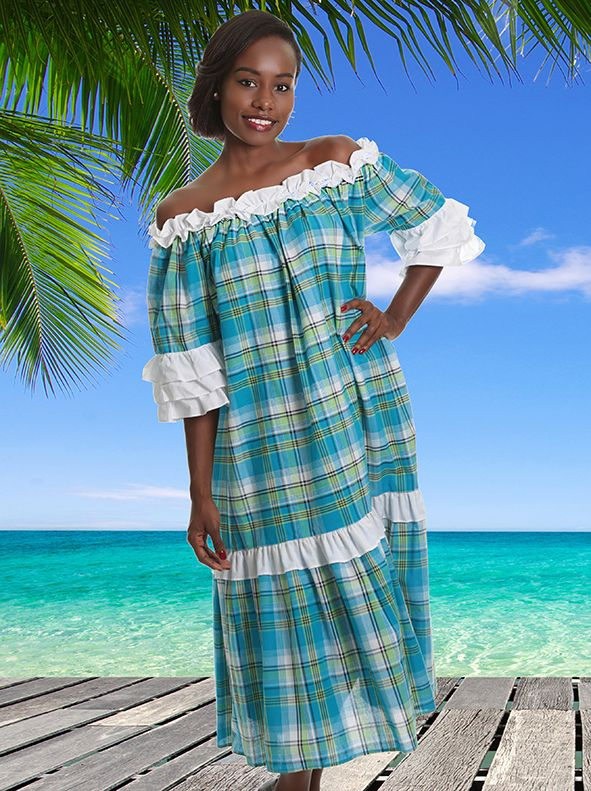 Robe Madras FEMME Tequila