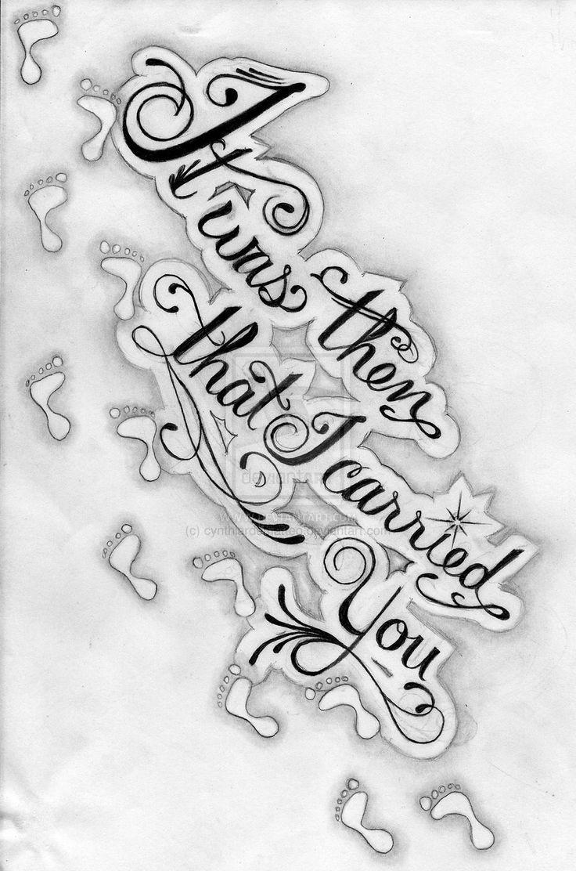 Tattoo designs tattoo word designs tattoo designs words tattoo - Footprints In The Sand Tattoo Designs Tattoo Design 2011 2013 Cynthiardematteo Footprints