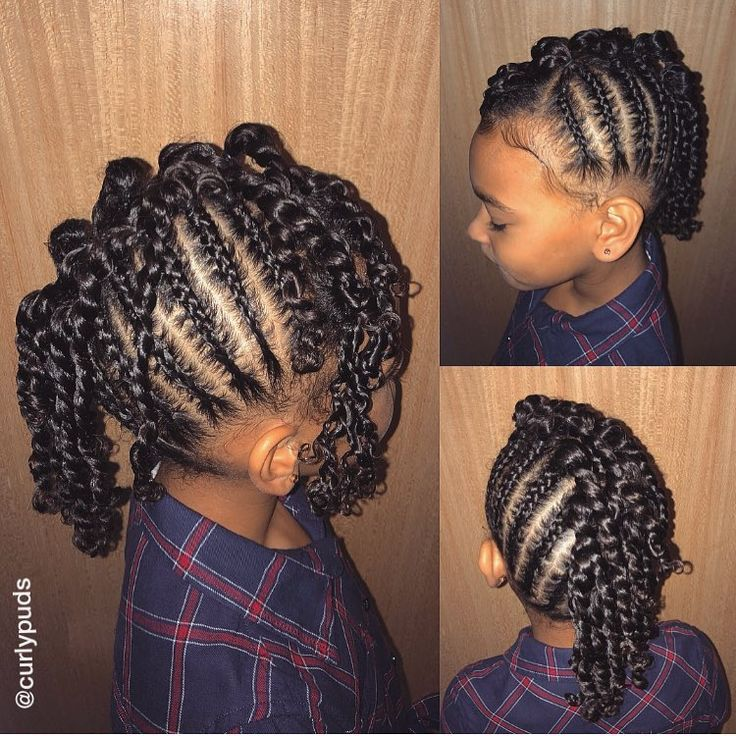 And after over a month... we have plaits  look at that shine  Birthday Party Ready  Freshly washed hair... then... Products used: @curlychichaircare Moisture in Minute leave in & @curlykidshaircare Gel Moisturiser #curlykidshaircare #curlykids #curlygirl #naturallycurly #mohawk #plaits #braids #twostrandtwists #cornrows #canerows #protectivestyle #kidsbraidstyle #naturalhair #naturalista #naturalhairdaily #naturalkidshair #naturalhairkids #browngirlshair #curlsaunaturelkids #kinklici...