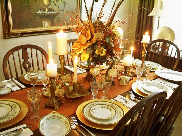 375 best thanksgiving tablescapes images on pinterest