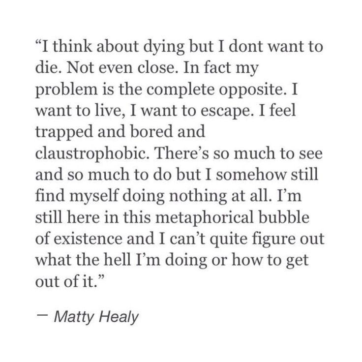 Matt healy, my favourite philosopher.