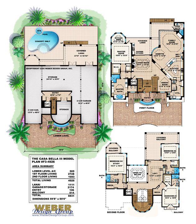 1073 best Home Floorplans I 3 images on Pinterest Floor plans