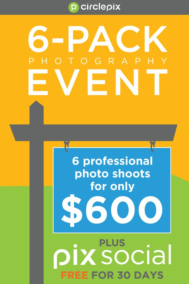 Save $240 on a bundle of six amazing professional photo shoots, and get a 30-day free trial of PIXsocial! Better photography, better social media, and better exposure. Can you say #commissiondance? Call now to order! 855-386-2221