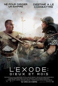 Affiche du film  L'exode : Dieux et rois