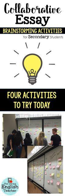process essay activities