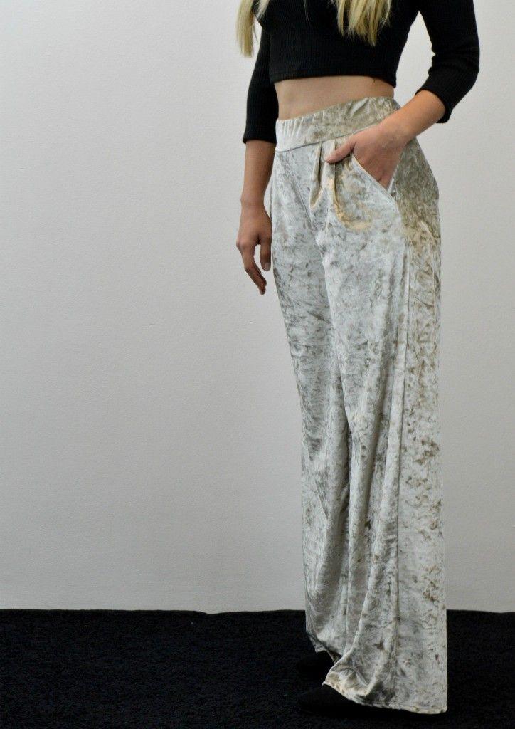 Παντελόνα Βελούδο Ψηλόμεση - ΜΠΕΖ | shop online: www.musitsa.com