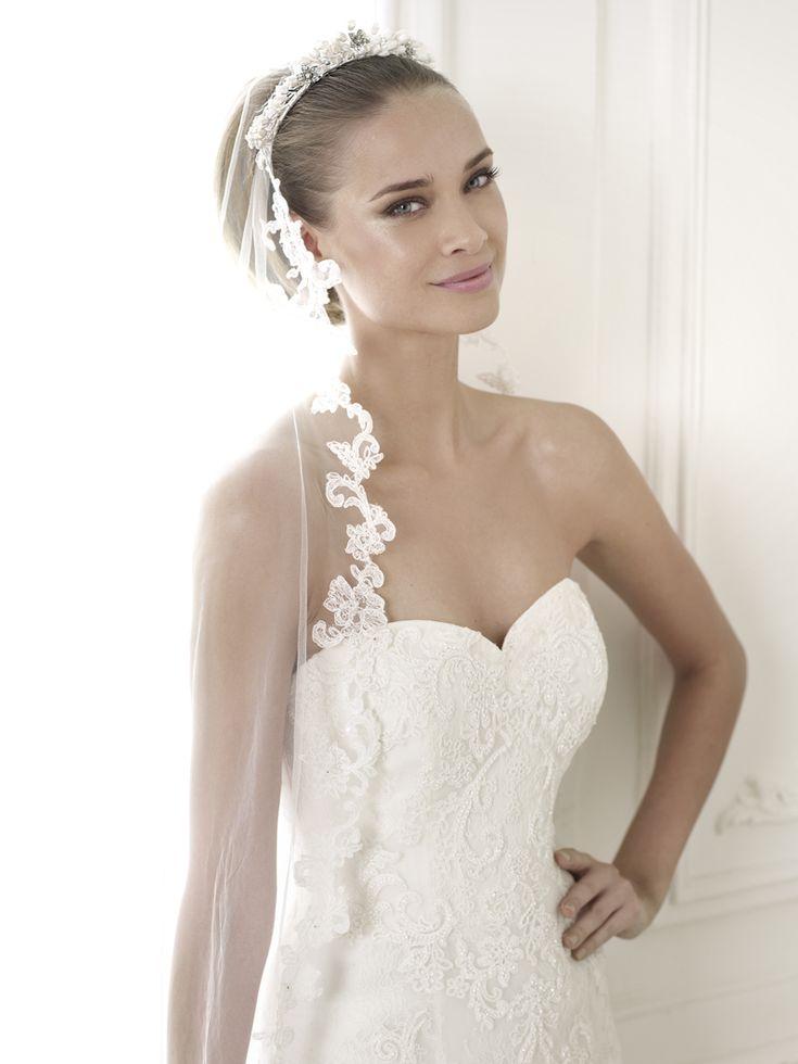 Vestido de novia escote corazón Pronovias Corazón Pronovias Bertina