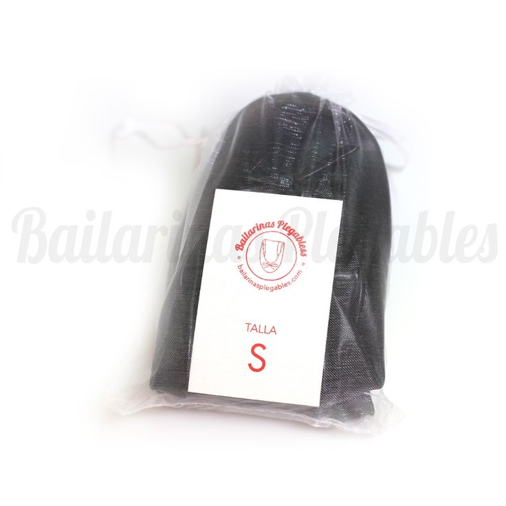 Bailarinas Plegables negras. Un regalo de boda original que seguro que tus invitadas te agradecerán.