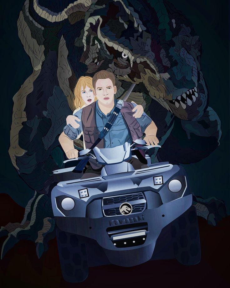 Artist:Burcu Başol  #jurassicpark #artwork #illustrations