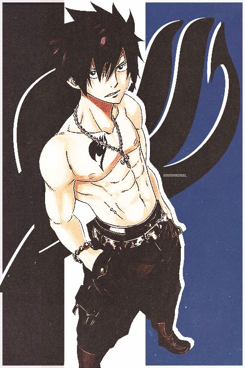 Gray Fullbuster my fav character from Fairy Tail