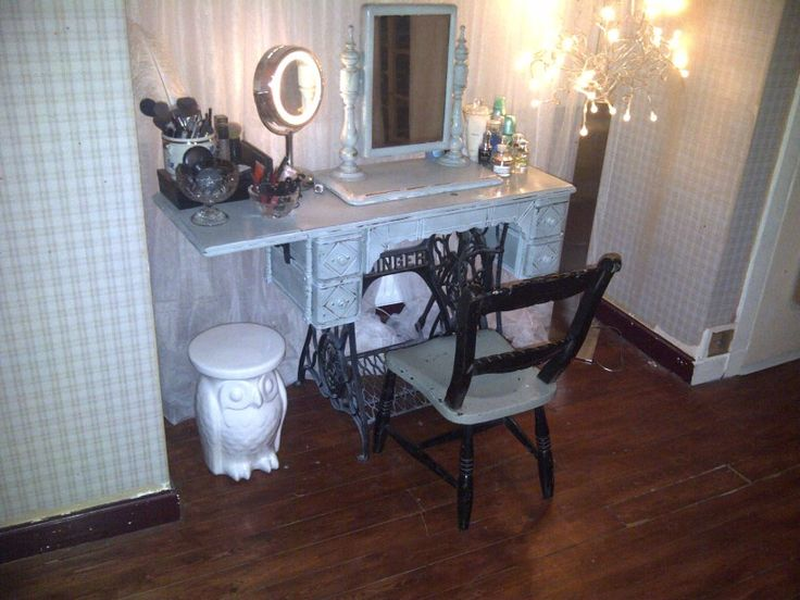 Sewing Table To Dressing Table