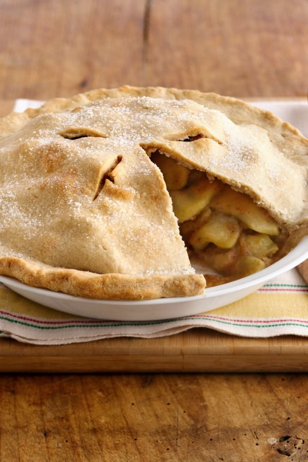 This is one of our most popular pies, and it definitely lives up to its name! The classic, flakey homemade crust gets filled with an easy apple-cinnamon-nutmeg filling. No worries if you're short on time, though: Betty's pie crust mix and canned sliced apples will give you a jump-start.