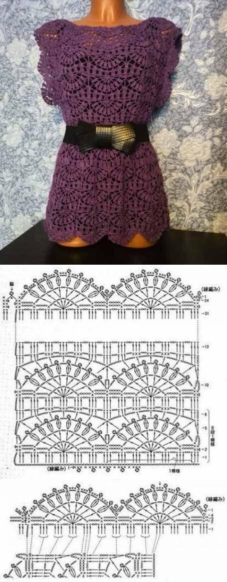 Beautiful pattern for tunic | mistress