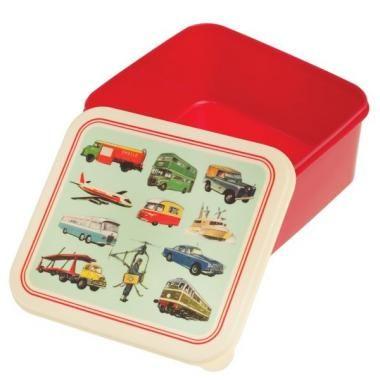 Lunchdoos 'Vintage Transport'
