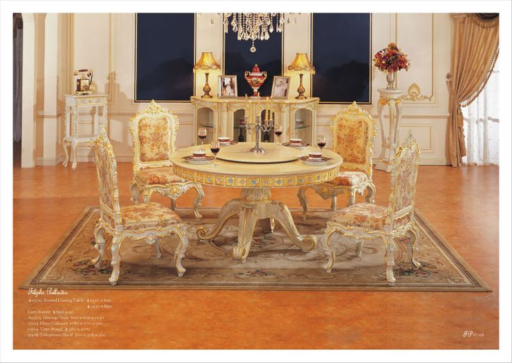 Italian Style Furniture Luxury Dining Room