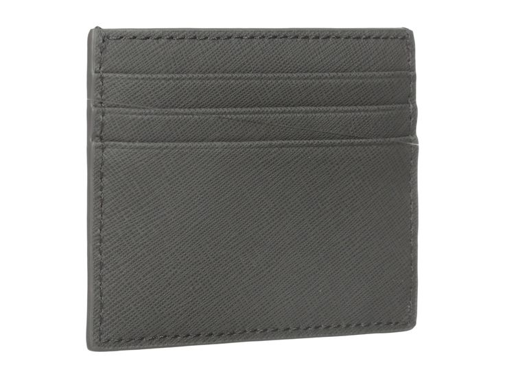 JACK SPADE Barrow Leather Six Card Holder. #jackspade #