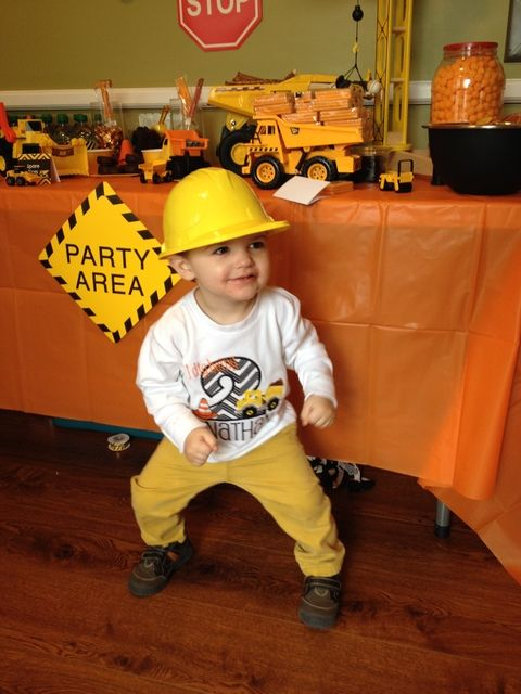 Construction Birthday Party Ideas | Photo 13 of 14