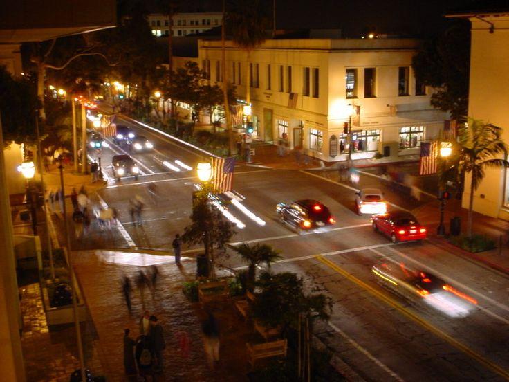 Santa Barbara, CA : Downtown Santa Barbara