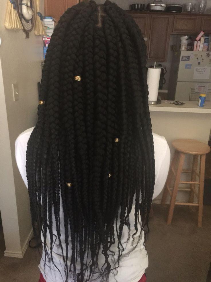 My Jumbo Box Braids with XPression Braiding Hair instagram: @ssleepyz
