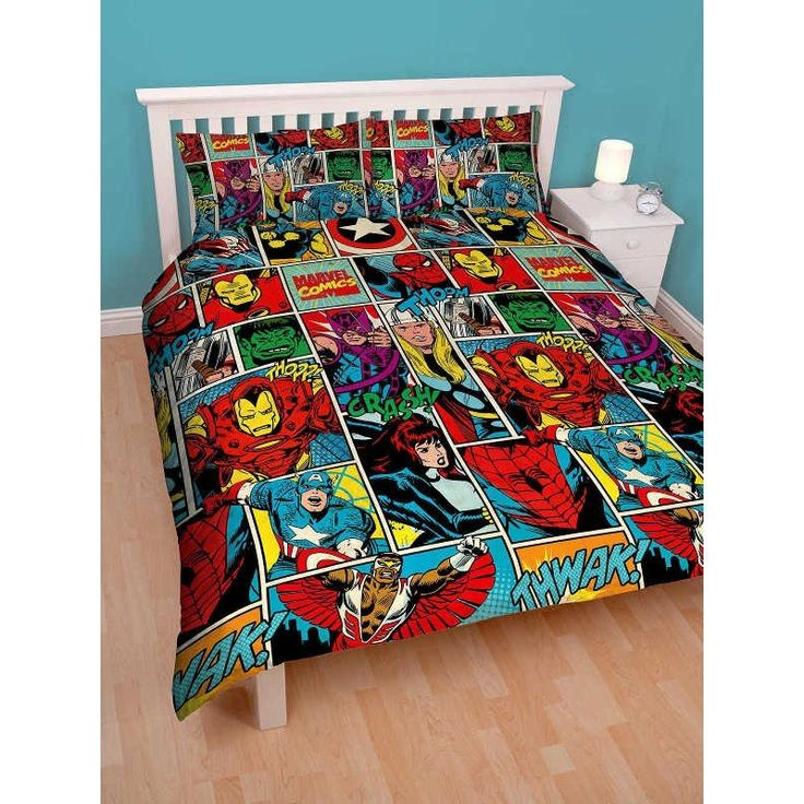 126 best Boys images on Pinterest | Plum, Children and Baby boy : marvel quilt cover - Adamdwight.com