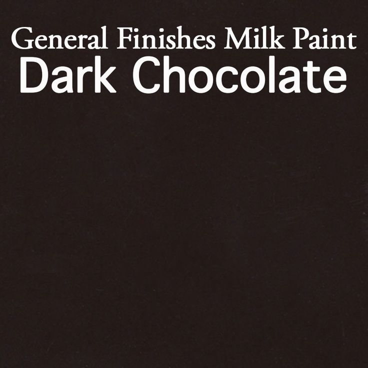 General Finishes Milk Paint in Chocolate Brown. Milk paint has many uses from providing a contemporary look to giving that old fashioned feel to your furniture. Available at Rockler & Woodcraft stores, Amazon.com, or find a retailer near you, generalfinishes.c.... Limited selections at www/leevalley.com in Canada. Share your projects with the tag #GeneralFinishes or at generalfinishes.c...