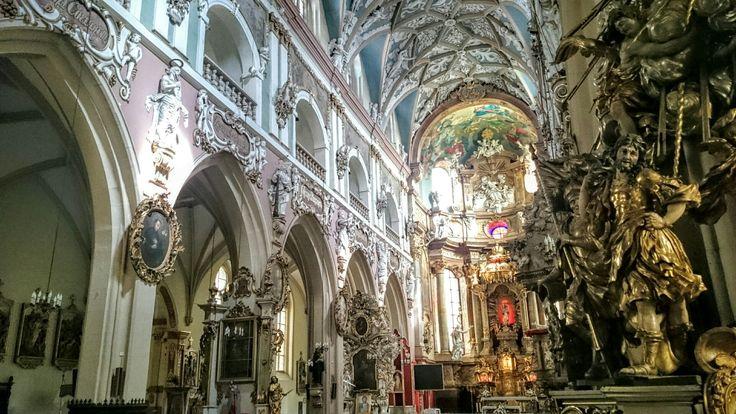 Kościół pw. Wniebowzięcia NMP, Kłodzko. Church of the Assumption of the Blessed Virgin Mary, Klodzko, Poland.