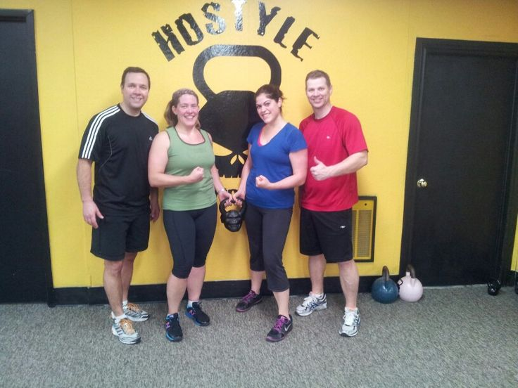 The AM group.  Crushing it every day.  Personal Training Orleans at Hostyle Conditioning.
