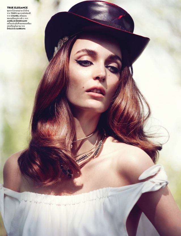 Vogue Thailand June 2014 | Zuzanna Bijoch by Marcin Tyszka