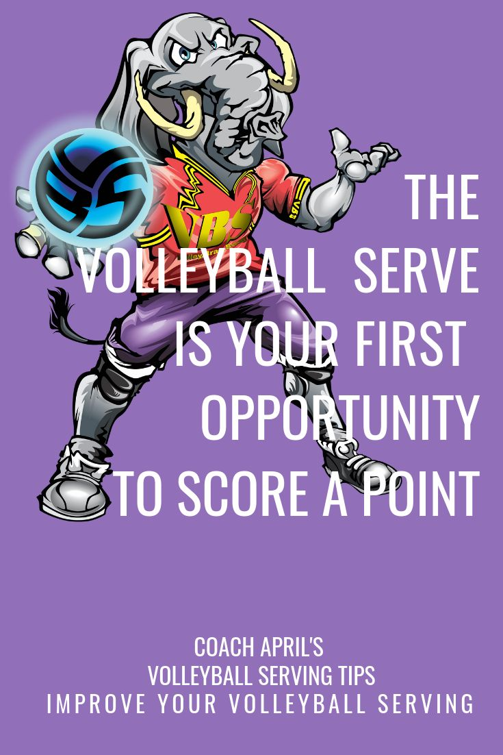 The Volleyball Serve Starts A Rally And Is Your First Chance To Score Volleyball Serve Volleyball Volleyball Skills