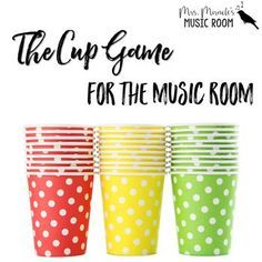 "This game is a GREAT activity for your 3rd through 7th graders! This freebie includes the cup game chant, activity directions, and ""I've been to Haarlem"" song. You can also view videos of my students performing the cup game at my blog.Looking for more activities for your older students?"