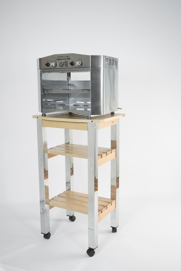 The small trolley for indoor and outdoor use; kitchen, livingroom, patio and garden. www.wegrill.eu