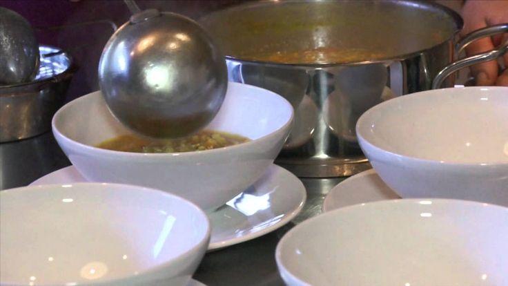 Indiai menü: Indiai dhal vörös lencséből parathával + borajánló