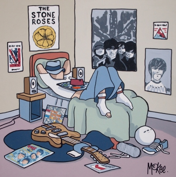 Stone Roses - Your Memories | Pete Mckee Official artists site