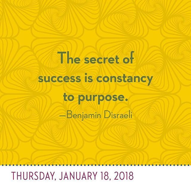 """The secret of success is constancy to purpose."" Benjamin Disraeli  You're Doing a Freaking Great Job 2018 #Inspiration #InspirationalQuote #Motivation #BestoftheDay #dailyinspiration #nicejob #slay #killingit #freakinggreatjob #quote #quotes #quoteoftheday"