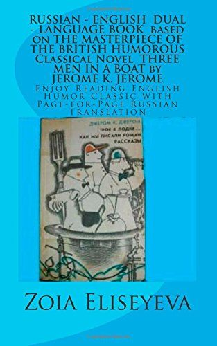 Please be aware that the page Amazon.fr gives INCORRECT description of the book.  The book is reedited in April 2015 and has 160 pages.  This is correct link to Kindle Edition-2015: http://www.amazon.com/RUSSIAN-LANGUAGE-MASTERPIECE-Classical-Eliseyeva-ebook/dp/B00W6AZ57K    RUSSIAN - ENGLISH  DUAL - LANGUAGE BOOK  based on THE MASTERPIECE OF THE BRITISH HUMOROUS Classical Novel  THREE MEN IN A BOAT by JEROME K. JEROME: ... with Page-for-Page Russian Translation de Zoia Eliseyeva