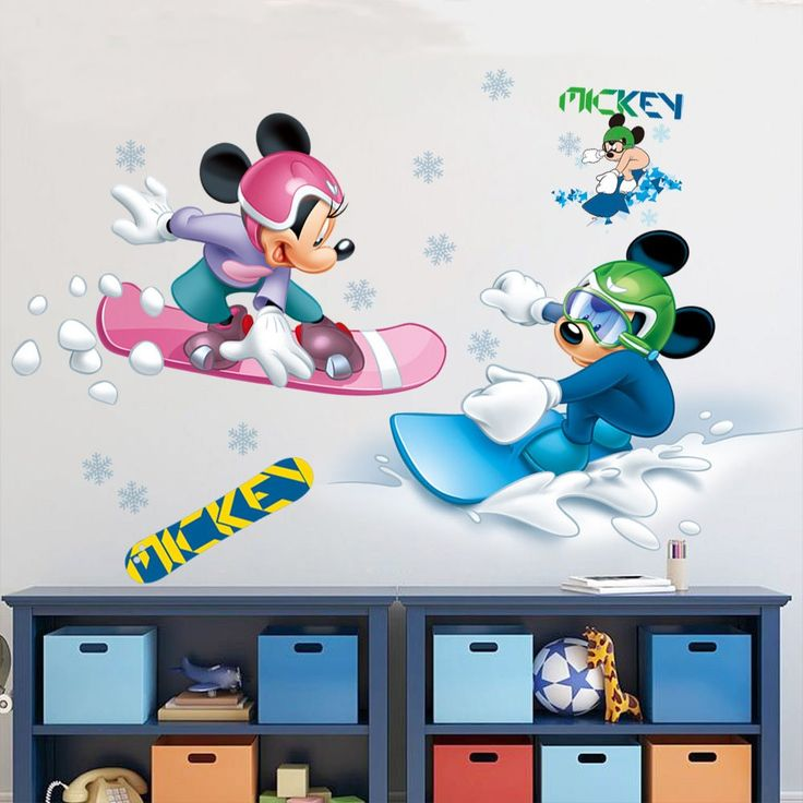 7 best Mickey Mouse Wall Stickers images on Pinterest | Wall ...