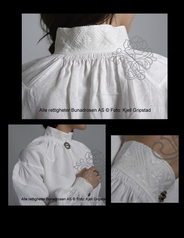 Valdres Blouse  Just a few things that are interesting about the blouse for a Valdres Bunad