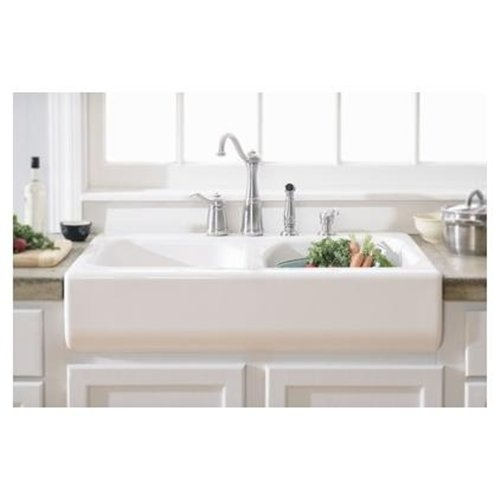 Farmhouse Sink White : Deluxe 34