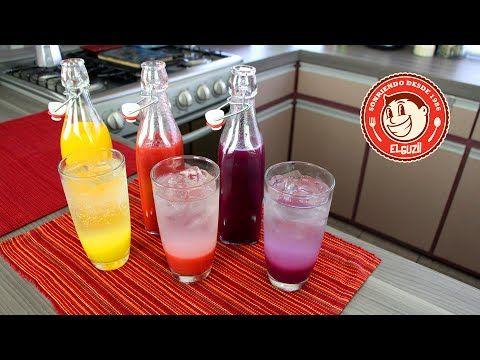 Sodas Italianas - Como hacer Sodas Italianas - El Guzii - YouTube