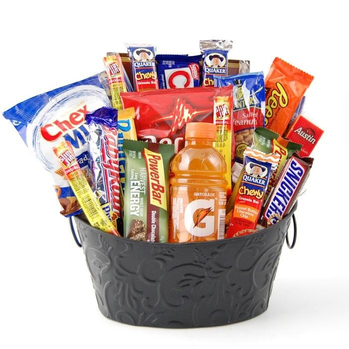 10 best snackcandy gift baskets images on pinterest hamper gift high energy snack gift basket negle Image collections